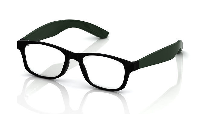 5c79f007b7d eyeglass for men 3d model obj mtl ma mb stl 3dm ...