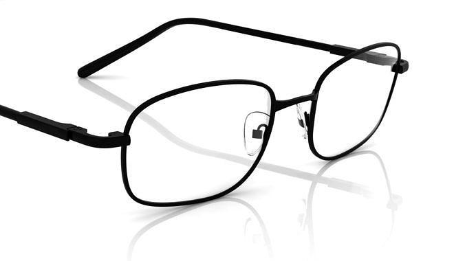 eyeglass for men 3d model obj mtl fbx stl 3dm 1