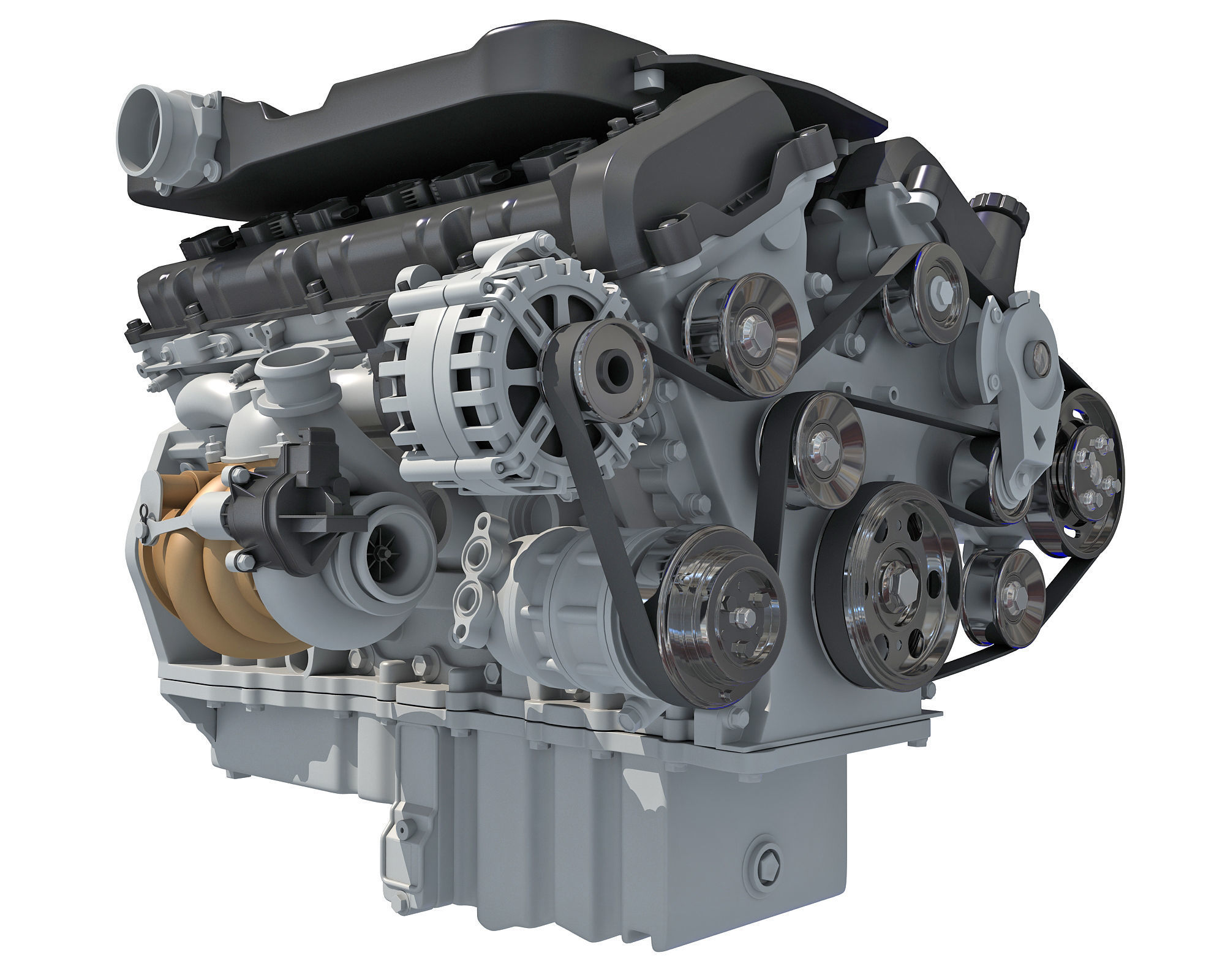 British V12 Engine