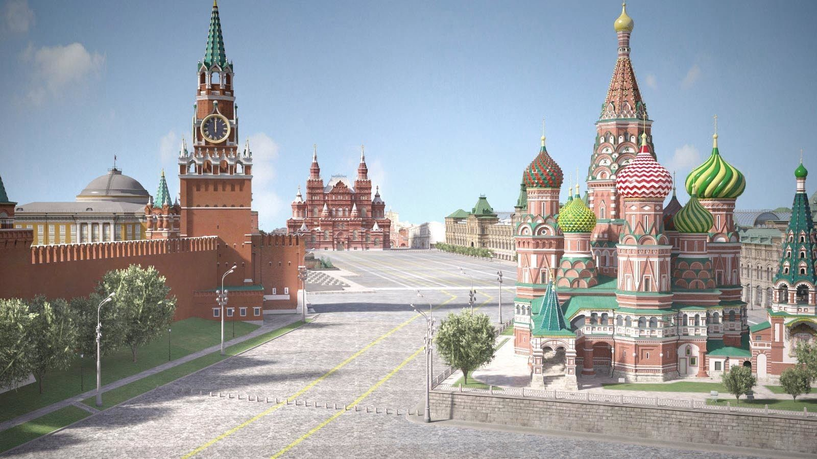 Moscow Red Square Russia