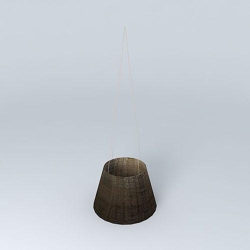 Suspension Osier houses the world 3D model | CGTrader