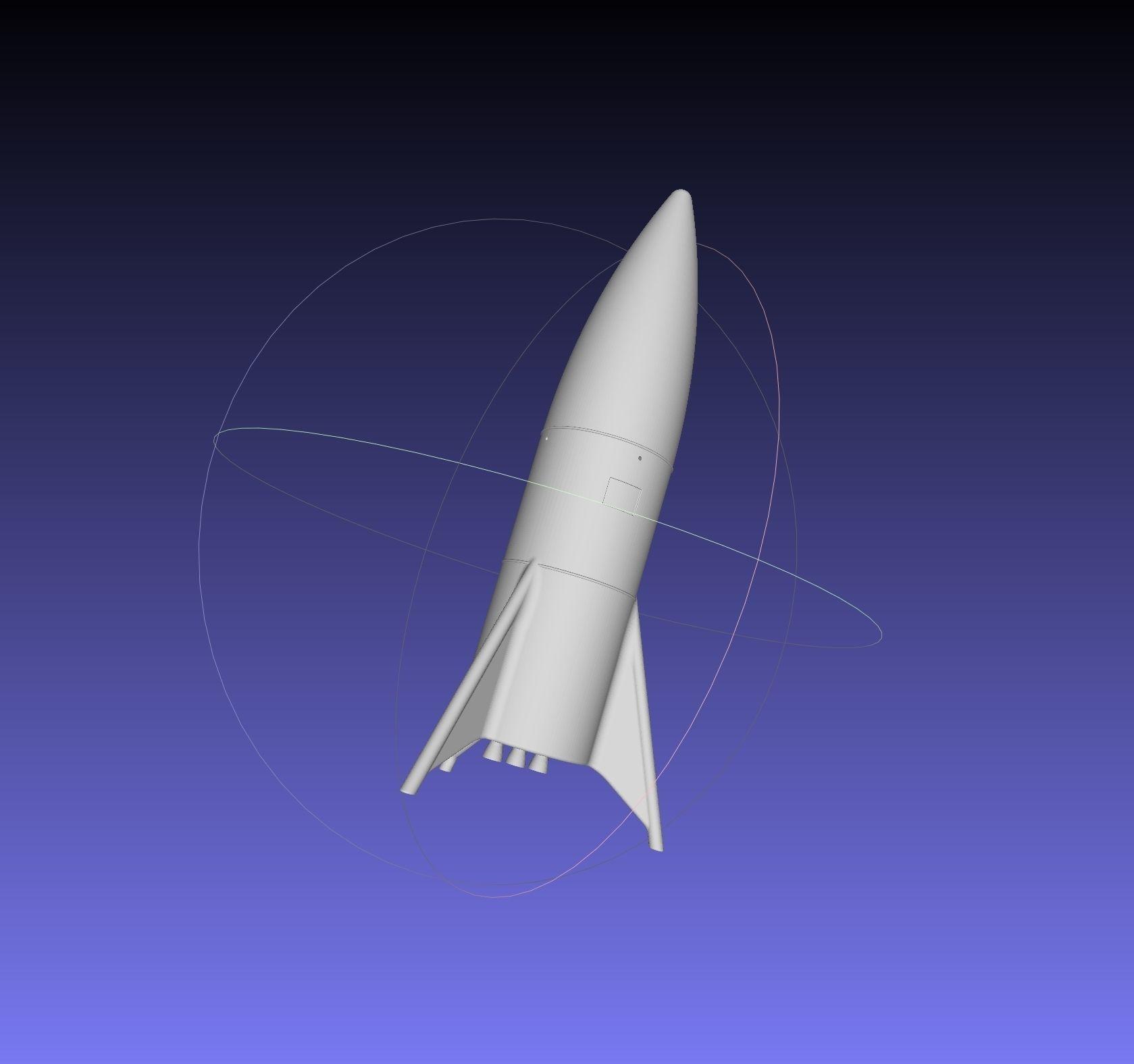 Space-X Starship Hopper Finished Version Printable Model