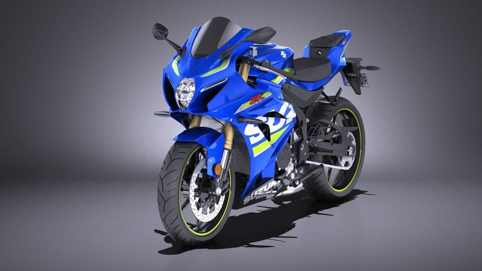 Suzuki GSX-R1000 2017 VRAY