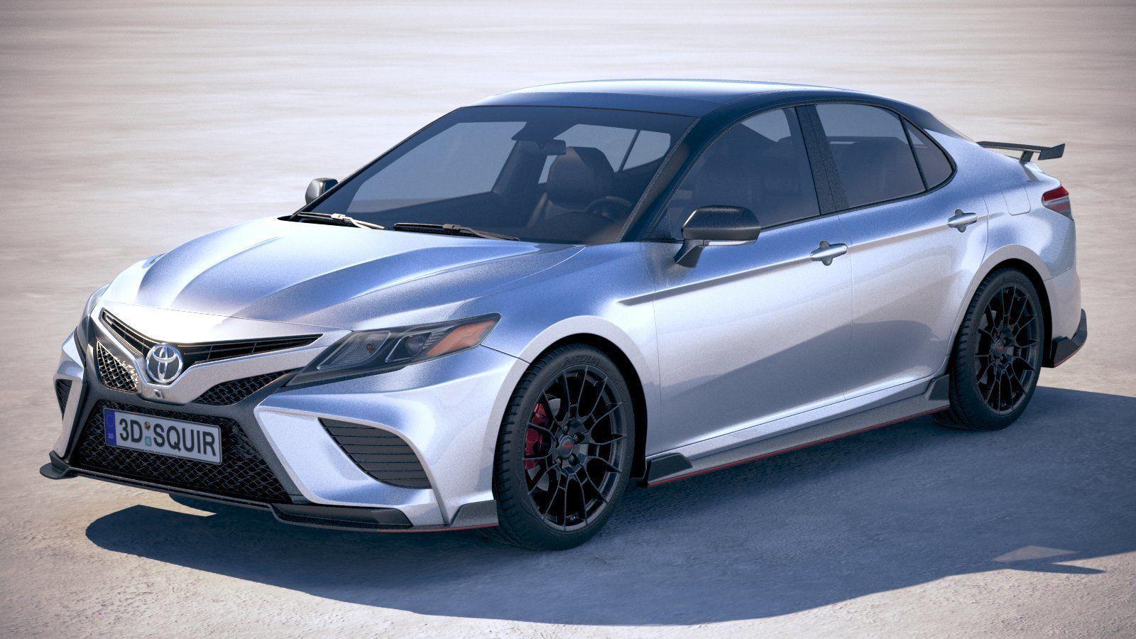 3D Toyota Camry TRD 2020 v6 | CGTrader