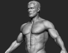 3D Male Body Sculpt 3