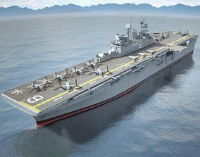 USS America LHA-6 Carrier 3D model
