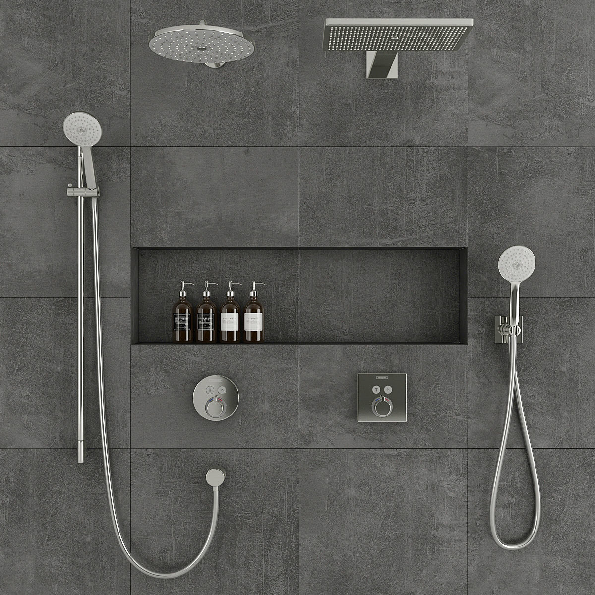 Hansgrohe Shower System Model