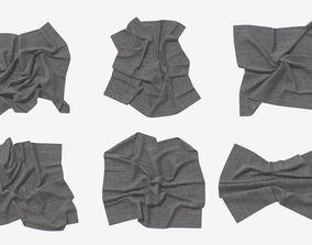 Fabric Set V2 3D model low-poly