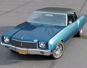3D model Monte Carlo Coupe 1970