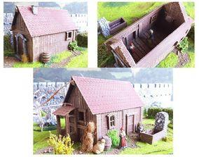 Middle age buildings SET -STL Files- 3D printable model