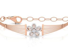Floret Bracelet 3D printable model necklace