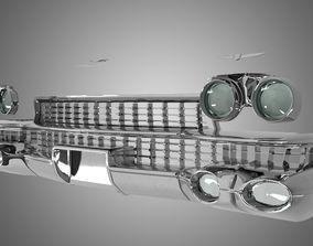 3D model Car Front Cadillac Eldorado 1959