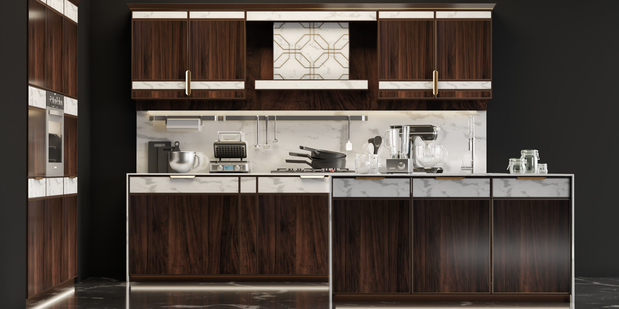 Kitchen FM Bottega dArte Daytona | 3D model