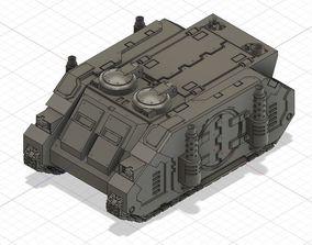 Rhino Deimos patter transport 3D print model