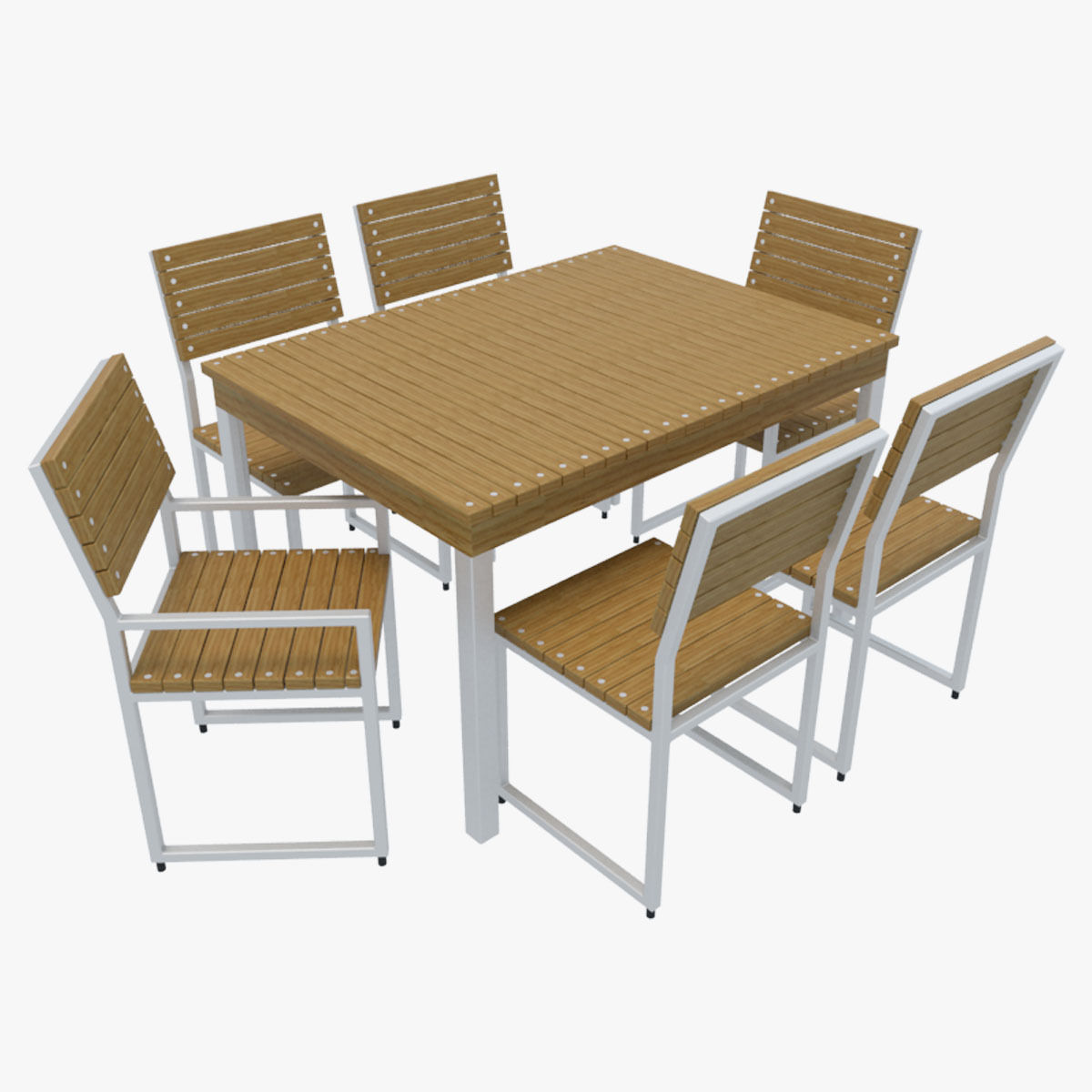 Outdoor Furniture 2 Cgtrader