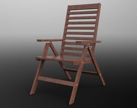 3D model Reclining chair
