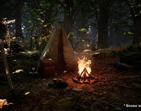 3D model Survival Asset Pack