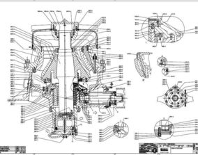Sandvik CH430 cone crusher original 3D model