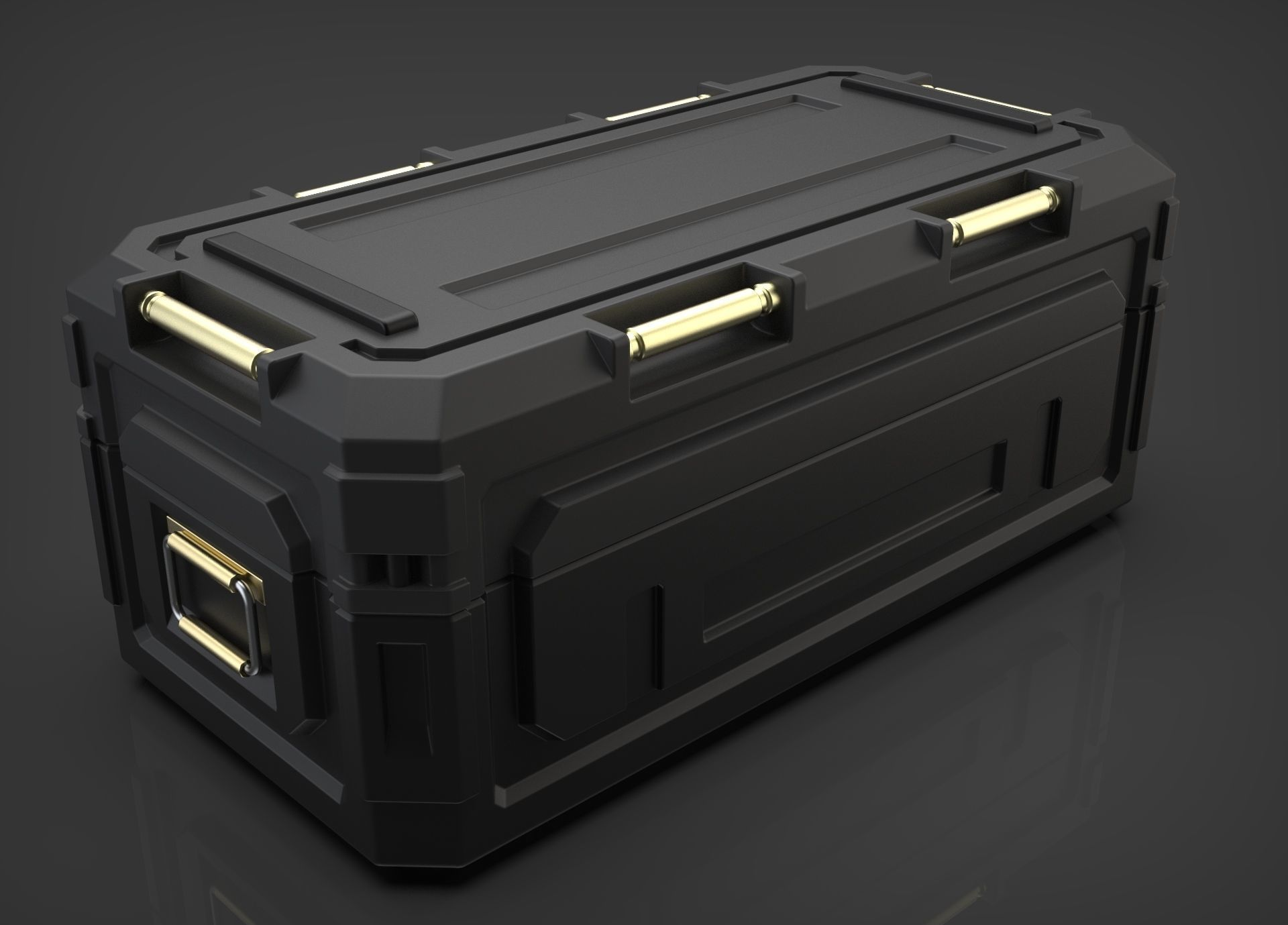 Sci-fi Military Container