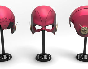CW fLASH HELMET-SEASON 5 3D print model