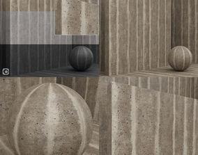 Materials seamless - Concrete - beton - plaster wall 3D