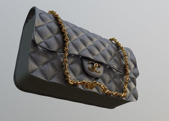 women handbag 3d model  3d model obj mtl fbx stl blend dae ply 1