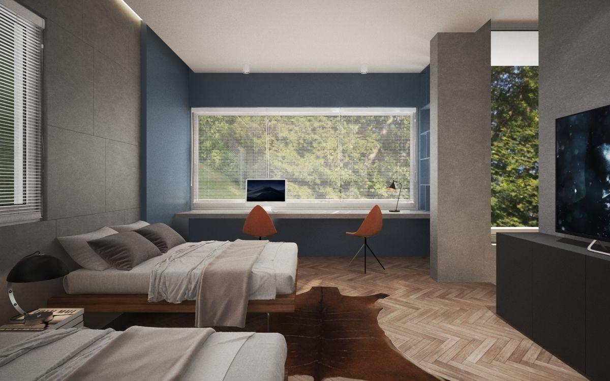 Modern Boys Bedroom V | 3D model