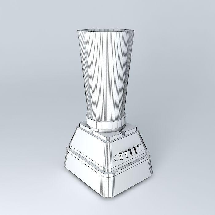 Kitchen Blender Free 3D Model MAX OBJ 3DS FBX STL DAE