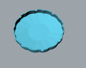 Orchid creative ashtray 3D Model