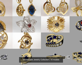jewellery 3d Printable Jewelry Collection