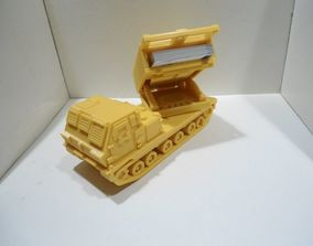 3D print model Missiles Launcher Business Card Holder