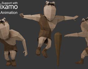 Caveman Character 3D model