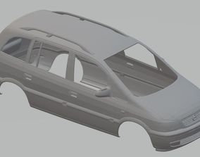 Opel Zafira Printable Body Car