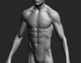 Male Basemesh ZBRUSH 05 3D model
