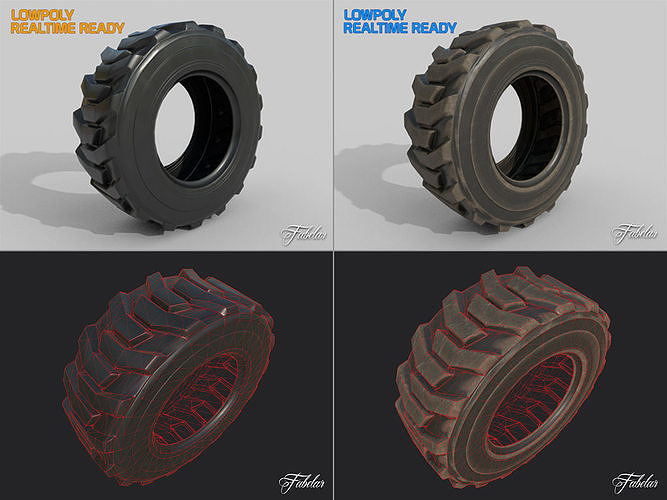 Loader tyre collection