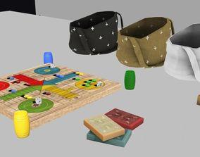 3D model Itens Decor Game