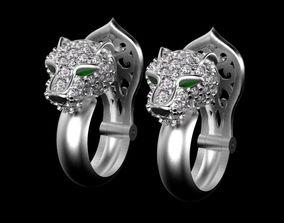 pendant earrings 3D printable model