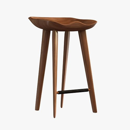 3d Dwr Tractor Counter Stool Cgtrader