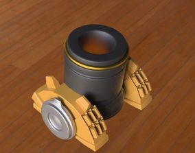 3D model clash of clans mortar