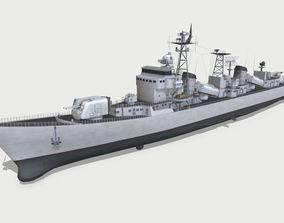3D Type 051 destroyer
