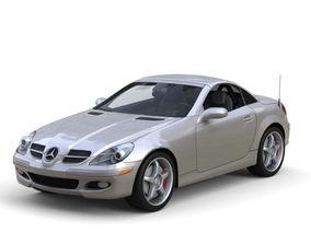 Mercedes Benz SLK 350 3D model