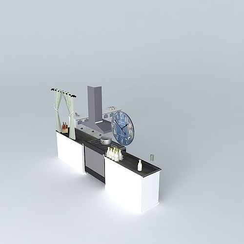 spices counter the kitchen houses the world 3d model max obj mtl 3ds fbx stl dae 1
