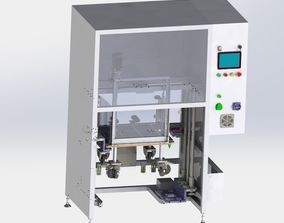 3D model Elevator type loading and unloading equipment