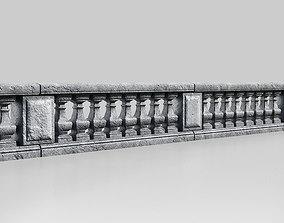 Modular balusters 3D model