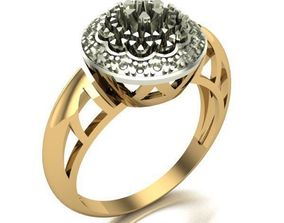 printable 3D print model WOMAN RING