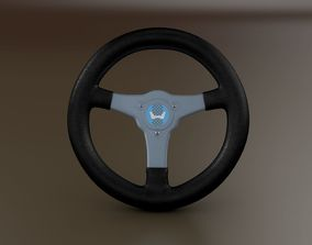 3D model HONDA RA 272 Steering Wheel