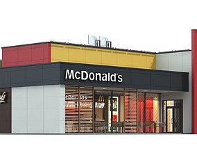 McDonalds restaurant 04 3D