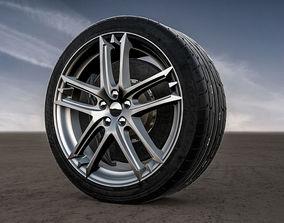 Maserati Grancabrio rims 3D