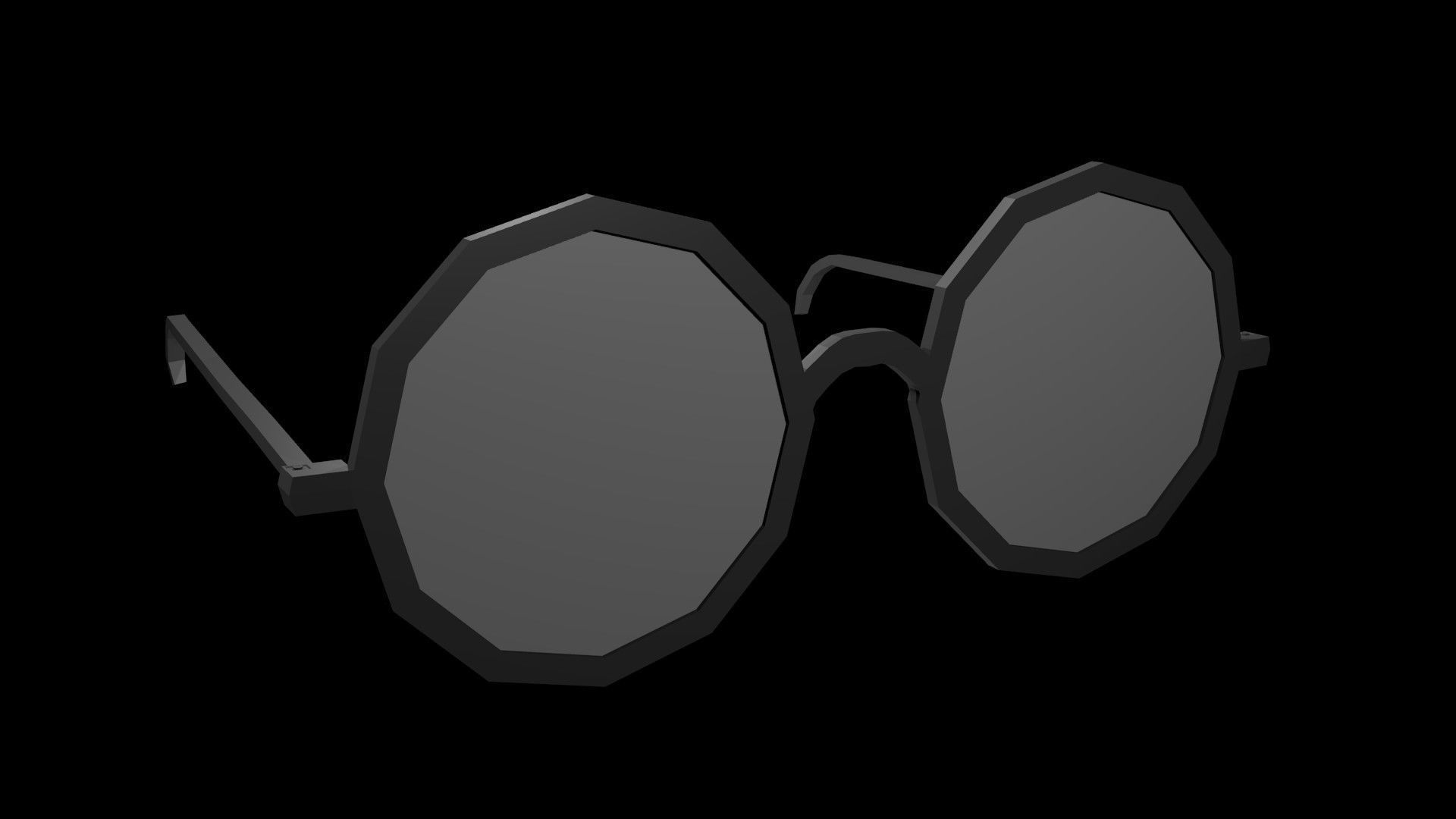 Low poly spectacles
