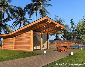 tiny house mobile home vacation house beach game-ready 2